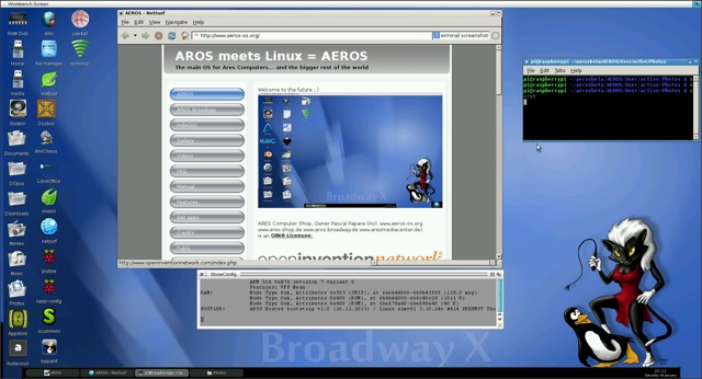 AROS (AmigaOS API-compatible) - Page 4 - Raspberry Pi Forums